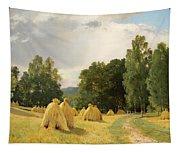 Straw Stacks Tapestry