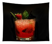 Strawberry Mojito Tapestry