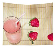 Strawberry Smoothie Tapestry