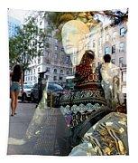 Street Fashion Tapestry