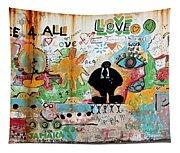 Street Mural At Liguanea Tapestry