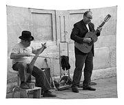 Street Musicians In Avignon Tapestry