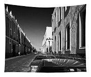 Streets Of Puebla 8 Tapestry