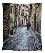 Streets Of Segovia Tapestry