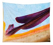 Strelitzia Abstract Tapestry