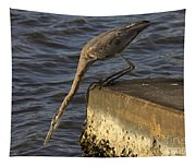 Stretch - Great Blue Heron Tapestry