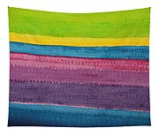 Stripes Original Painting Tapestry