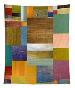 Strips And Pieces Lv Tapestry