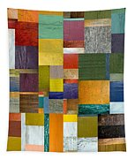 Strips And Pieces V Tapestry by Michelle Calkins
