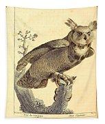 Strix Virginiana Owl Tapestry