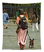 Strolling In Jackson Square Tapestry