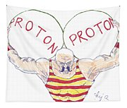 Strong Nuclear Force Tapestry