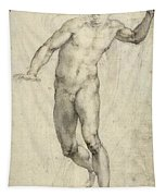 Study For The Last Judgement  Tapestry