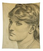 Study Of A Head For The Bower Meadow Tapestry