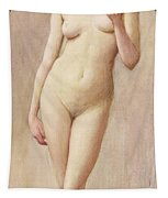 Study Of A Nude II Tapestry