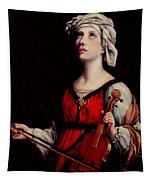 Study Of St. Cecelia Tapestry