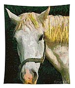 Study Of The Horse's Head Tapestry
