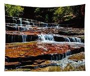 Subway Falls Tapestry