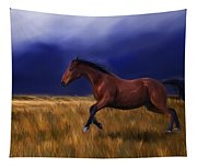 Galloping Horse Painting Tapestry