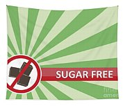 Sugar Free Banner Tapestry