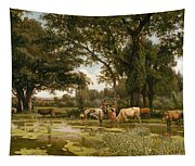 Summer Bloom Tapestry