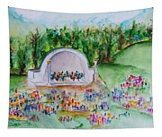 Summer Concert In The Park Tapestry