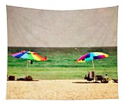 Summer Days At The Beach Tapestry