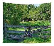 Summer Gate Tapestry
