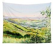 Summer Landscape Inspiration Point Orinda California Tapestry