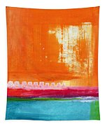 Summer Picnic- Colorful Abstract Art Tapestry