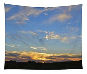Summer Sets Panorama Tapestry