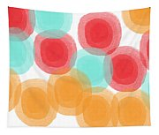 Summer Sorbet- Abstract Painting Tapestry