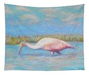 Summer Spoonbill Tapestry