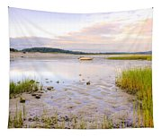 Summer Sunrise At Little Neck Tapestry