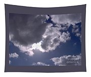 Sun Behind The Clouds Tapestry