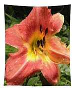 Sun Day Lilly  Tapestry