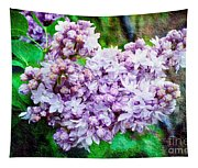Sun Lit Lilac The Sweet Sign Of Spring Tapestry