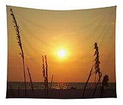 Sun Over The Ocean Tapestry