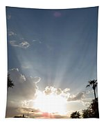 Sun Rays Tapestry