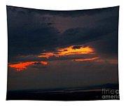 Sun Set On Cadillac Mountain Tapestry