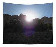 Sun Sets At Tent Rocks Tapestry