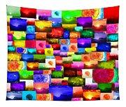 Sun Stuff - Collage Tapestry