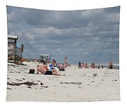 Sunbathers Tapestry