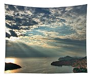 Sunbeams On Dubrovnik Tapestry