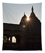 Sunburst At The Temple Of The 64 Yoginis Tapestry