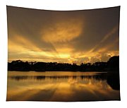 Sunburst Reflection Tapestry