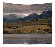 Sundown On The Lake.thought To Be Lake Tahoe Tapestry