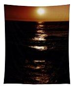 Sundown Reflections On Lake Michigan 02 Tapestry