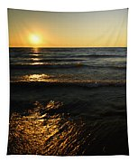 Sundown Shimmer Tapestry