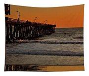 Sundown Surfing Tapestry